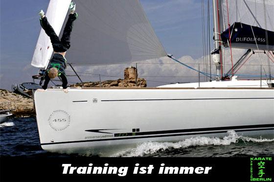 Training ist immer